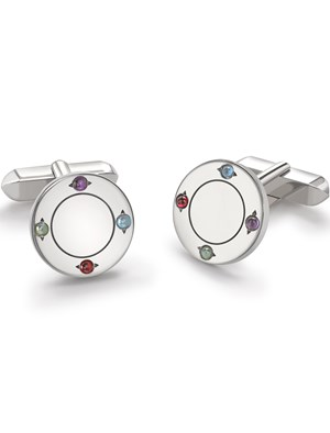 Birthstone Cufflinks